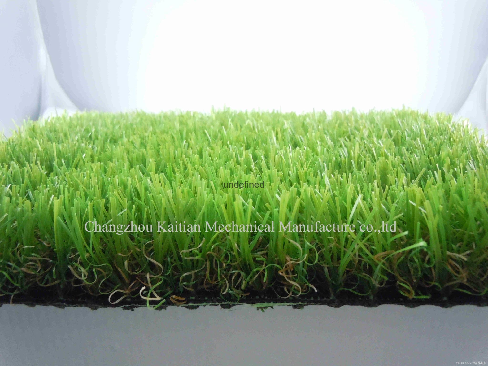 Plastic extruding artificial grass monofilament manufacturing machine