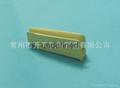 Folding wire ceramic nozzle