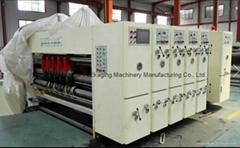 High Speed Corrugated Carton Flexo Printing Machine with Slotter