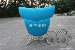 Imola chair 老板休闲椅带脚踏 经理白领时尚家具 北欧