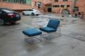 Wired Italic Lounge Chair & Ottoman 時尚造型椅 2