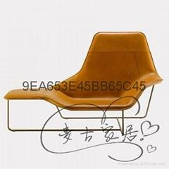 Lama Lounge Chair 时尚 休闲躺椅