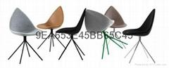 Ottawa Dining Chair 个性树叶椅简约尖角椅