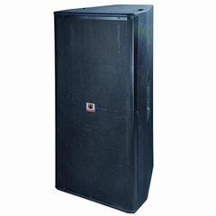 R-215 loudspeaker dual 15'' pa speaker for wholesale