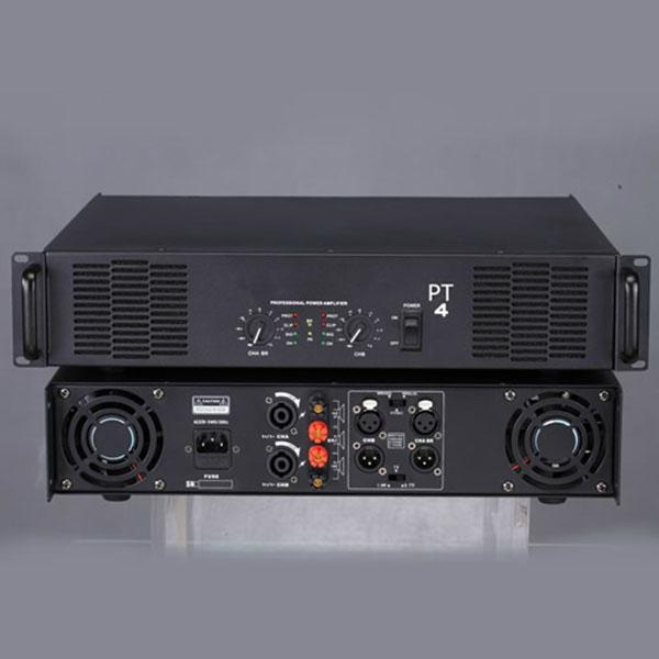 PT-4 2 channel anolog power amplifier 1