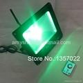 RF remote control DMX RGB LED flood light 100W/50W 2