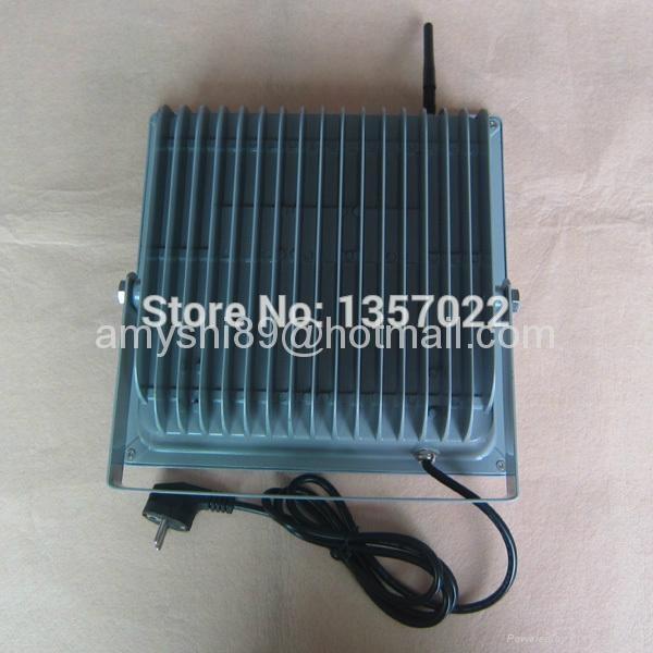 RF remote control DMX RGB LED flood light 100W/50W 4
