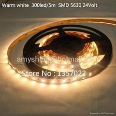 High Quality LED strip light bar SMD5630 24V Warm white 40LM/LED