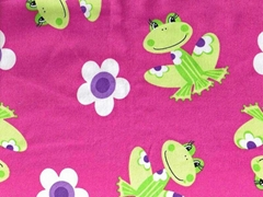 Pigment Printed Flannel Fabric