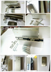 High quality cam door closers for rotating concealed springs