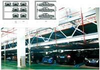 九路泊車六層昇降橫移式立體車庫
