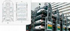 垂直循環降式立體車庫
