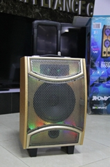 party speaker with karaoke system