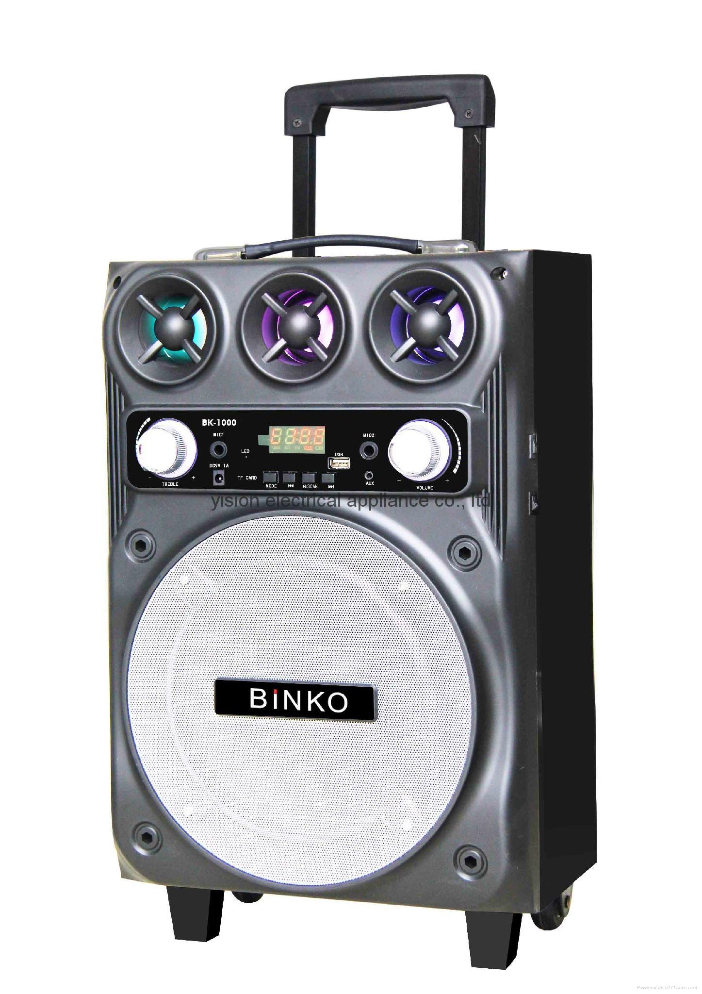 portable PA speaker BK-1000 2