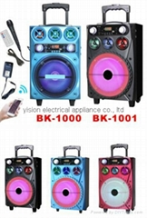 battery powered portable speakers BK-1001