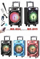 portable amplified speakers BK-805