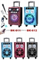 portable trolley speakers BK-811