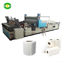 1575mm automatic rewinding tissue kitchen towel paper roll making machine