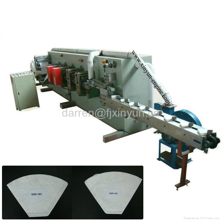 Heat Sealing Coffee Paper Filter Bag Making Machine 1