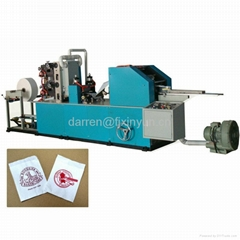 Full automatic L fold dispenser napkin paper machine