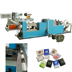 Full automatic pocket tissue handkerchief paper making machine