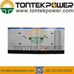 90kW Prime Power Diesel Engine Generating Set in Closed Type