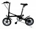 批发一秒折叠自行车14寸 高碳