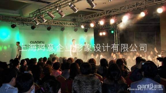 上海鸿声舞美展台展示搭建制作 3