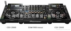 上海鸿意DJ打碟机全套配LIN