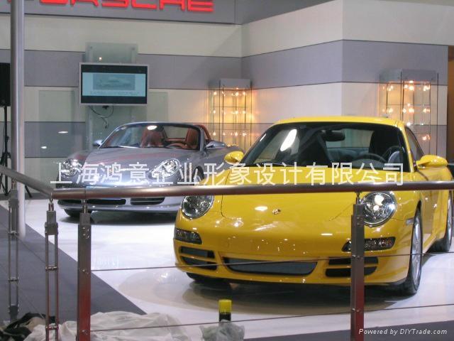 上海車展舞臺燈光音響租賃 2