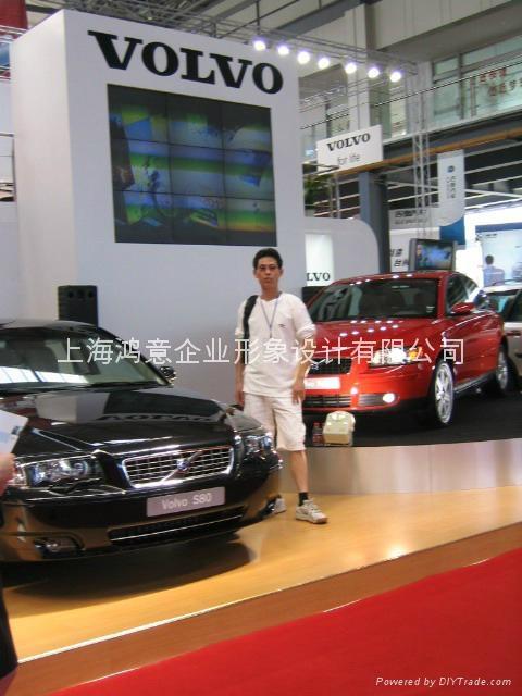 上海车展舞台灯光音响租赁 3