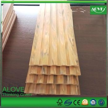 pvc wall panels  outdoor exterior wall cladding decking panel 4