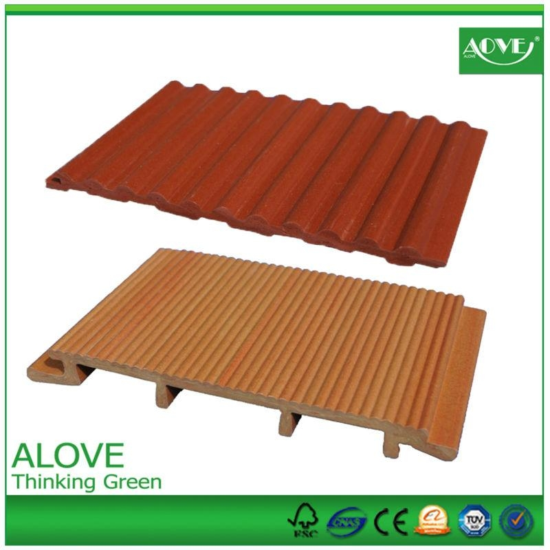 pvc wall panels  outdoor exterior wall cladding decking panel 5