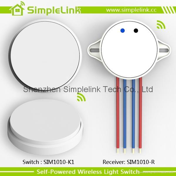 2015 New design waterproof wireless free stickers switch panel 2