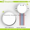 2015 New design waterproof wireless free stickers switch panel 3