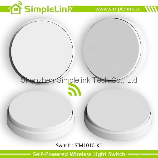 2015 New design waterproof wireless free stickers switch panel 4