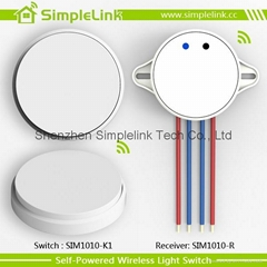 Self-powered wireless wall switch,remote control