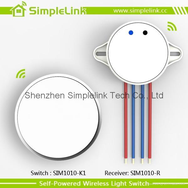 Self-powered wireless wall switch,remote control 3