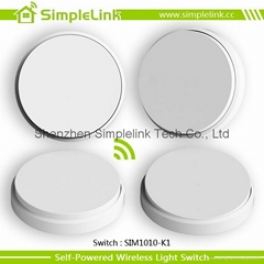 Self-powered wireless wall switch,remote