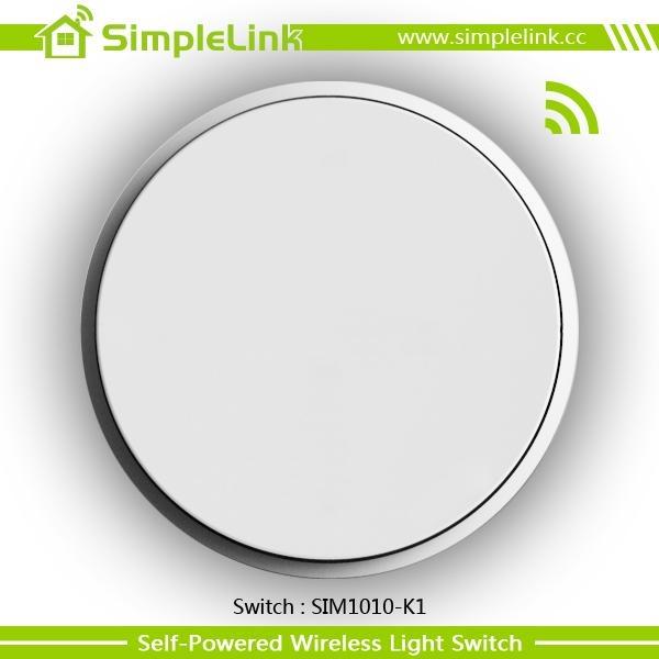 RF remote control wireless wall switch 1