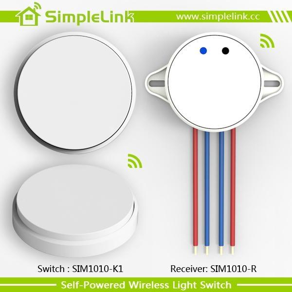RF remote control wireless wall switch 4