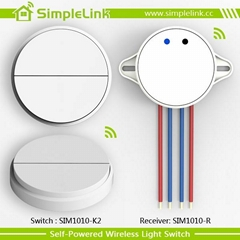 New design remote control 2 gang wall switch socket