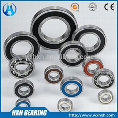 High presion low noise Deep Groove Ball Bearing 6200 series with China factory p