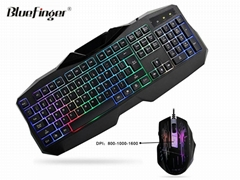 USB Wired Keyboard and Mouse Combo Set for laptop desktop