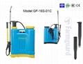 PE NEW 16L backpack  hand push pump agriculture sprayer knapsack garden sprayer  1