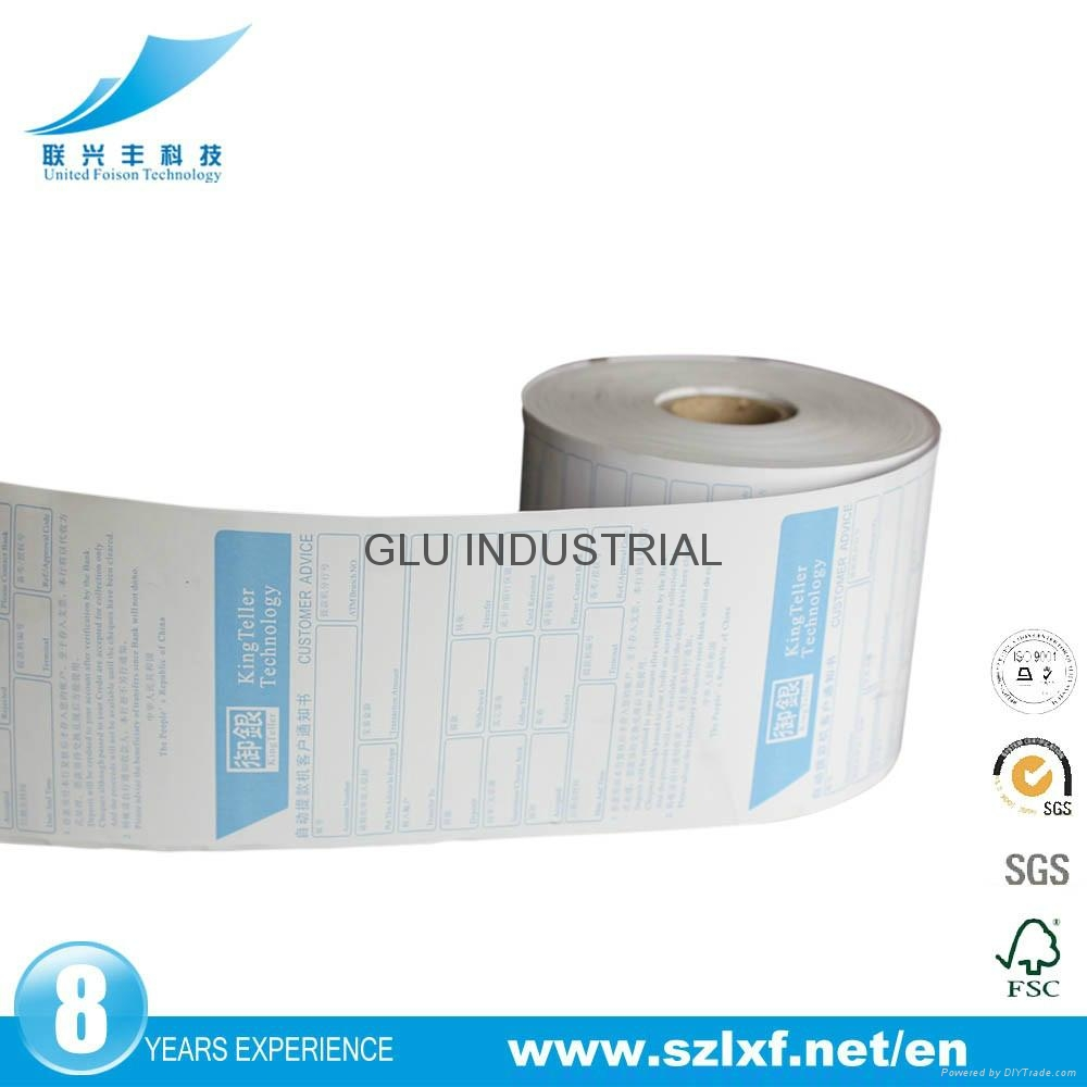 shopping mall receipt thermal paper roll movie ticket roll for thermal printer m 2