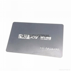 Promotional Plastic Card Name Card Member Smart Card