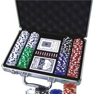 20116 200pcs Poker Chips Game Set 1