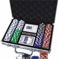 20116 200pcs Poker Chips Game Set