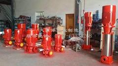 CCC认证铸铁立式多级消防泵